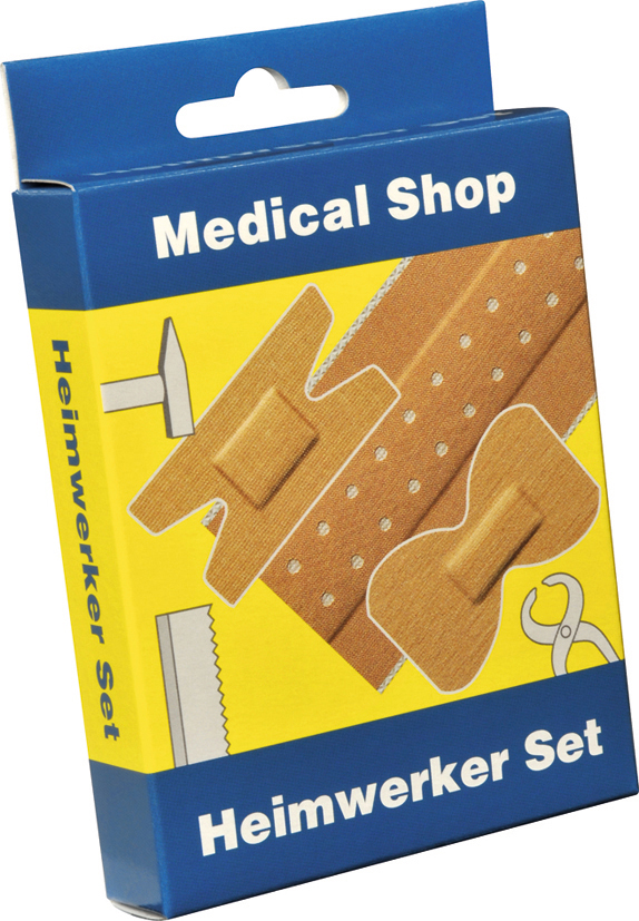 Medical Shop plaster set for handyman